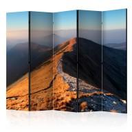Parawan 5częściowy  Szlak w Tatrach Zachodnich II [Room Dividers]