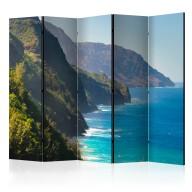 Parawan 5częściowy  Na Pali Coast, Kauai, Hawaii II [Room Dividers]