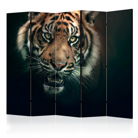 Parawan 5częściowy  Tygrys bengalski II [Room Dividers]