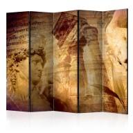 Parawan 5częściowy  Grecki kolaż II [Room Dividers]