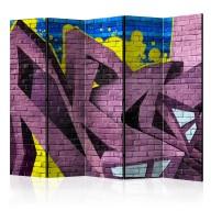 Parawan 5częściowy  Street art  graffiti II [Room Dividers]
