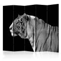 Parawan 5-częściowy - Biały tygrys II [Room Dividers]