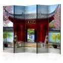 Parawan 5-częściowy - Chinese botanical garden of Montreal (Quebec Canada) II [Room Dividers]