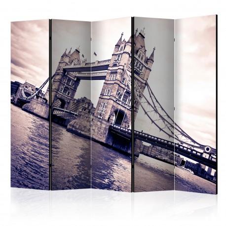 Parawan 5częściowy  Tower Bridge II [Room Dividers]