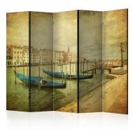 Parawan 5częściowy  Grand Canal, Venice (Vintage) II [Room Dividers]