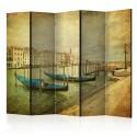 Parawan 5-częściowy - Grand Canal, Venice (Vintage) II [Room Dividers]