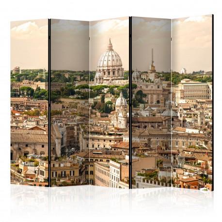 Parawan 5częściowy  Rzym panorama II [Room Dividers]
