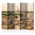 Parawan 5-częściowy - Rzym: panorama II [Room Dividers]