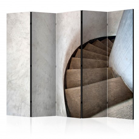 Parawan 5częściowy  Kręte schody II [Room Dividers]