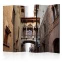 Parawan 5-częściowy - Barcelona Palau generalitat in gothic Barrio II [Room Dividers]