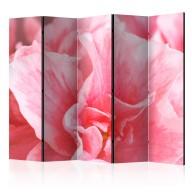 Parawan 5częściowy  Różowe kwiaty azalii II [Room Dividers]