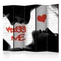 Parawan 5-częściowy - Kiss me II [Room Dividers]
