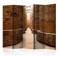 Parawan 5częściowy  Świątynia w Karnak, Egipt II [Room Dividers]