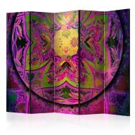 Parawan 5częściowy  Mandala Różowa ekspresja II [Room Dividers]
