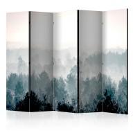 Parawan 5częściowy  Zimowy las II [Room Dividers]