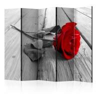 Parawan 5częściowy  Porzucona róża II [Room Dividers]