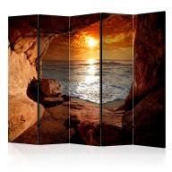 Parawan 5częściowy  Wyjście z jaskini II [Room Dividers]
