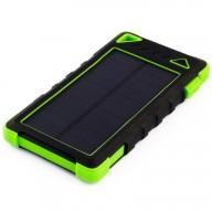 POWERNEED, S8000G, Power Bank 8000mAh (29,6Wh) z panelem solarnym 1W, wyjście: USB 5V, 1A - 5V, 2A