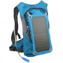 POWERNEED, SBS10, Plecak turystyczny z bidonem 8l i panelem solarnym 7W, wyjście: USB 5V, 1.2A
