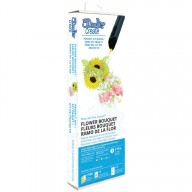 3DOODLER, 3DRFLR, Flower Bouquet szablon, 4 zestawy filamentów
