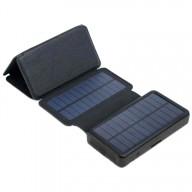 POWERNEED, ES20000B, Panel solarny 9W z power bankiem 20000mAh (74Wh), wyjście: USB 2x 5V, 2A