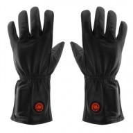 GLOVII, GIB, Ogrzewane rękawiczki skórzane, rozmiar: L-XL