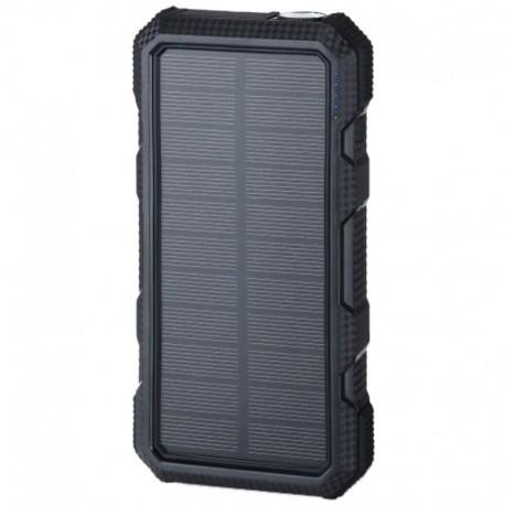 POWERNEED, S20000B, Power Bank 20000mAh (74Wh) z panelem solarnym 1.5W, wyjście: USB QC3.0 PD 18W (max) - USB 5V, 2A - USB-C 5V,