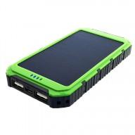 POWERNEED, S6000G, Power Bank 6000mAh (22,2Wh) z panelem solarnym 0,8W, wyjście: USB 5V, 1A - 5V, 2A