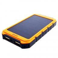 POWERNEED, S6000Y, Power Bank 6000mAh (22,2Wh) z panelem solarnym 0,8W, wyjście: USB 5V, 1A - 5V, 2A