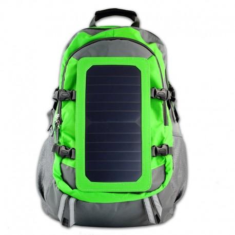 POWERNEED, SBS12, Plecak na laptop 15,6'' z panelem solarnym 6.5W, wyjście: USB 5V, 1.2A