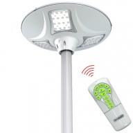 POWERNEED, SLL12, Solarna lampa ogrodowa / uliczna zdalnie sterowana z czujnikiem ruchu, panel o mocy 18W