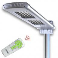 POWERNEED, SSL02, Solarna lampa uliczna zdalnie sterowana z czujnikiem ruchu, panel o mocy 15W