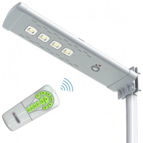 POWERNEED, SSL06N, Solarna lampa uliczna zdalnie sterowana z czujnikiem ruchu, panel o mocy 15W