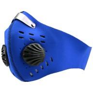 Pyłoszczelna, zmywalna maska sportowa z wymiennym filtrem PM2,5