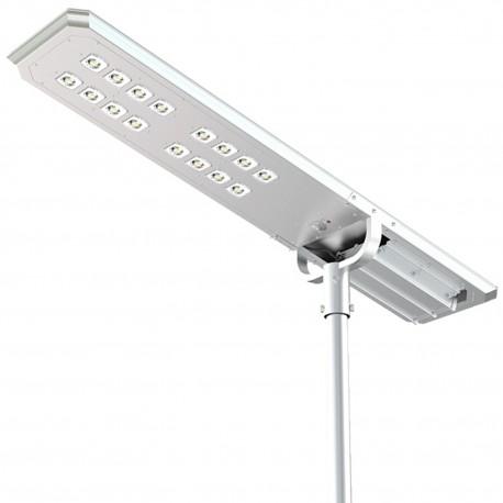Solarna lampa uliczna ATLAS 8000lm, LED x160, panel solarny 86W, czujnik ruchu i zmierzchowy