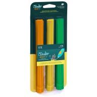 Filament 3Doodler Start, Eko, 2.5mm, 75 sztuk, 3 kolory, Tangerine Tang/ Lemon Zest/Spring Green
