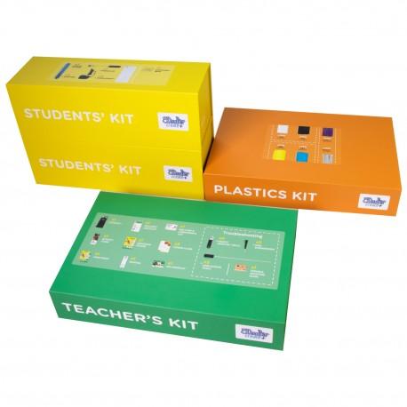3Doodler Create Plus Learning packs, 6 długopisów do druku 3D z akcesoriami, wtyczka EU