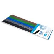 Filament 3Doodler Create i PRO, ABS, 3mm, 25 sztuk, 5 kolorów, Mix1